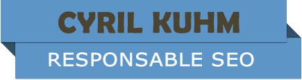 KUHM Cyril - Consultant SEO